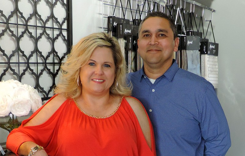 Brenda and Jesse Esparza, owners of Gallery Design Center