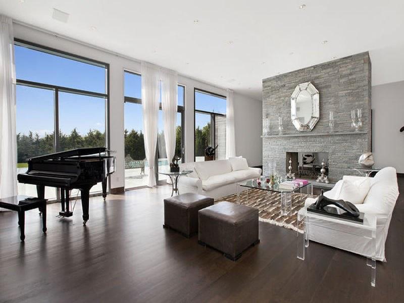Living Room Colors Dark Floor dark wood floors - creditrestore