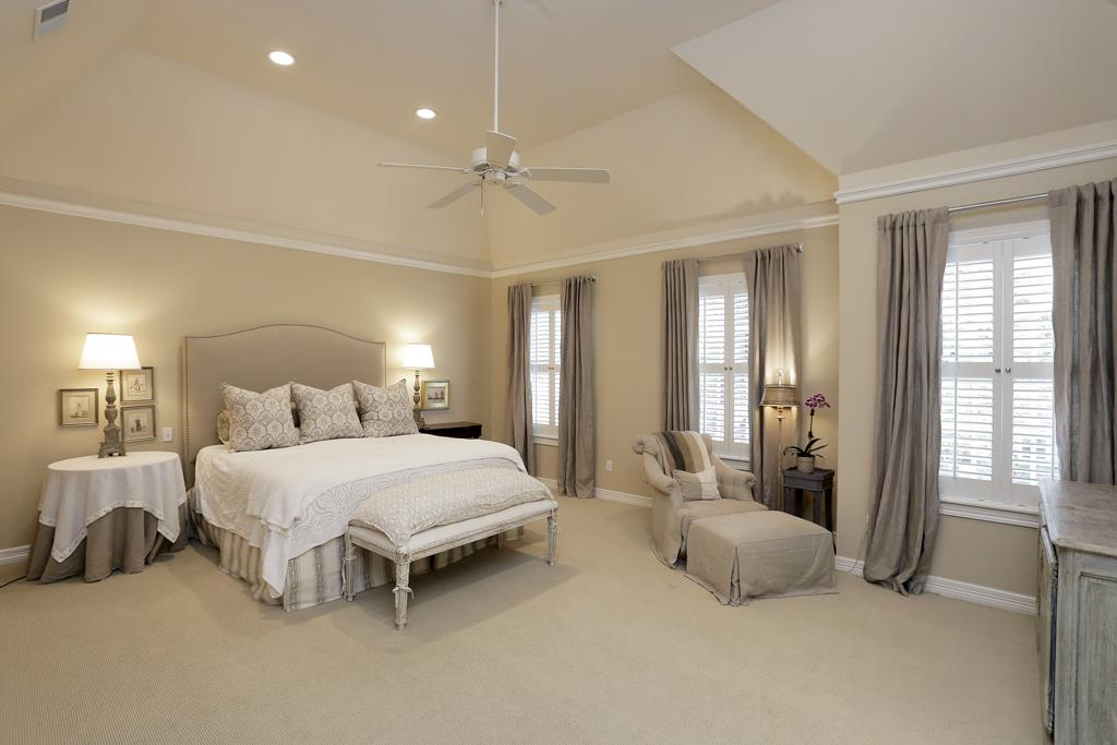 Master Bedroom Plush Carpet | Gallery Design Center
